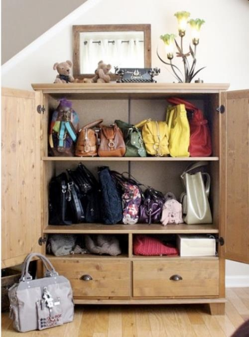 Bag Organizing Idea!