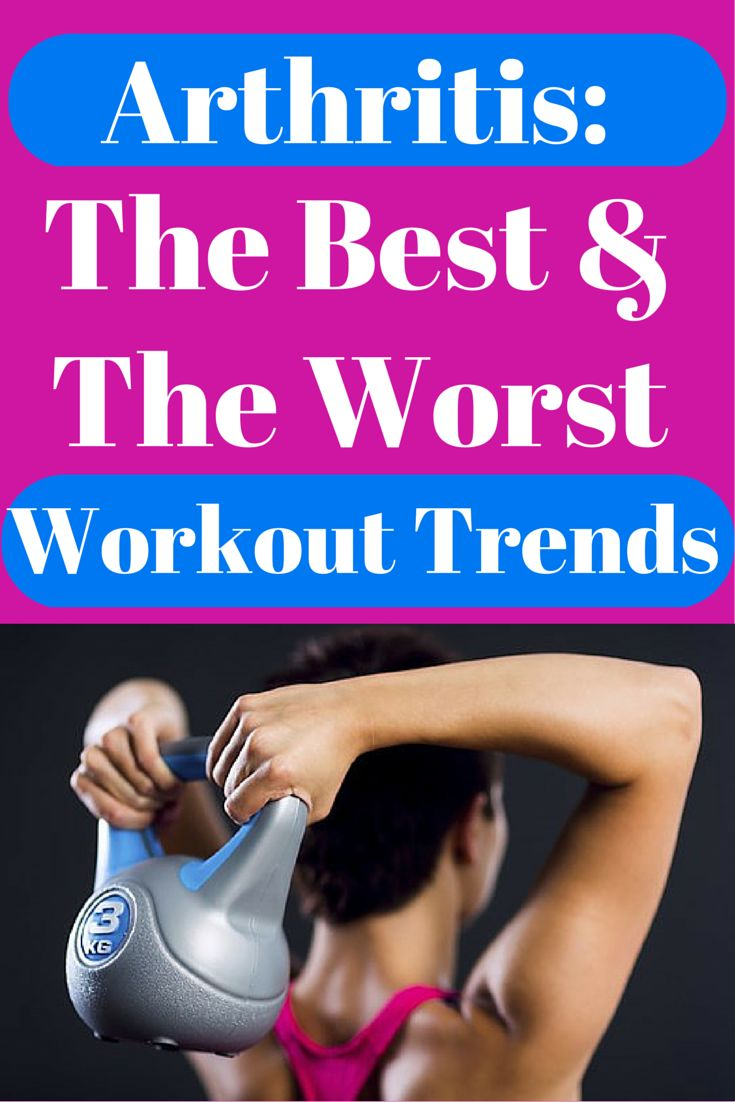 Arthritis: The Best and Worst Workout Trends
