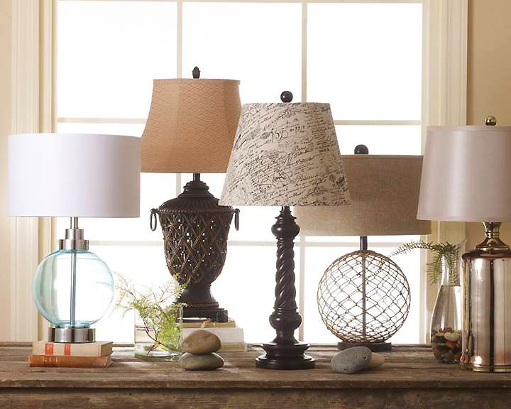 Which One Do You Need For Your Room? Ashley Has Great Lamps. Check Out