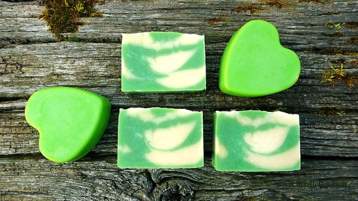 MINT and LEMON SOAP