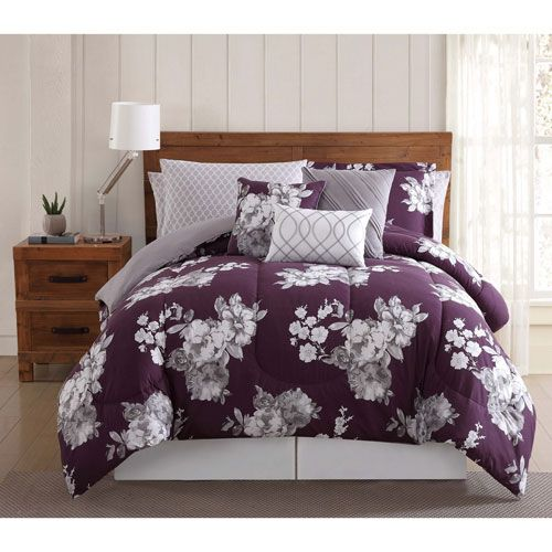 Peony Garden Floral Twelve-Piece King Bed Ensemble - (In No Image Available)