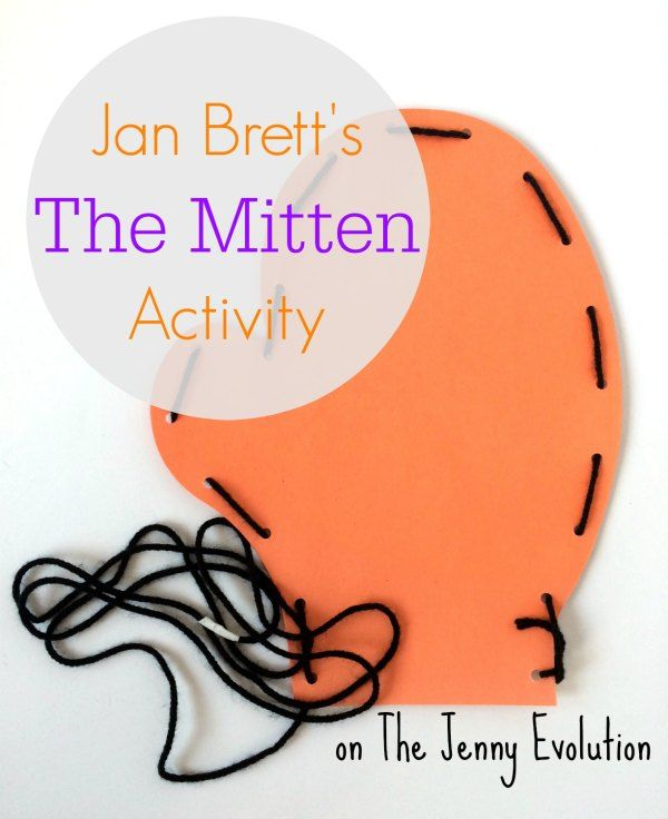 Jan Brett's The Mitten Book Activity | The Jenny Evolution