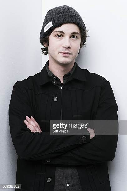 Actor Logan Lerman of 'Indignation' poses for a portrait at the 2016 Sundance Film Festival on January 24 2016 in Park City Utah