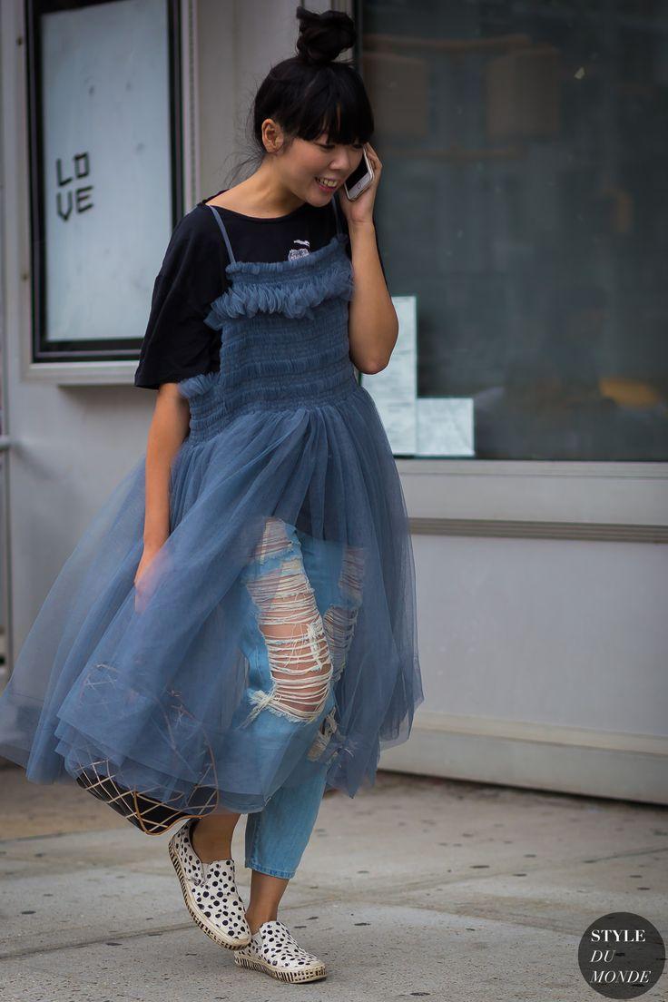 New York Fashion Week SS 2016 Street Style: Susie Lau