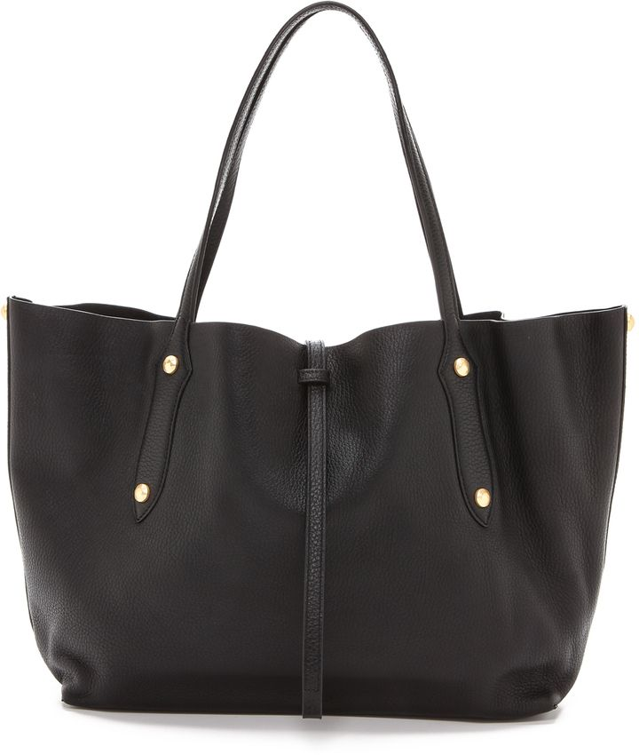 LOVE this tote - perfect for everyday use and the softest leather - also comes in lots of other fun colors and a slightly larger size