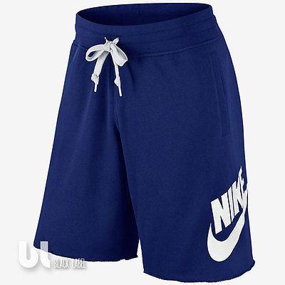 Nike Aw77 Alumni French Terry Shorts Herren Shorts Bermudas Fitness Kurzehose
