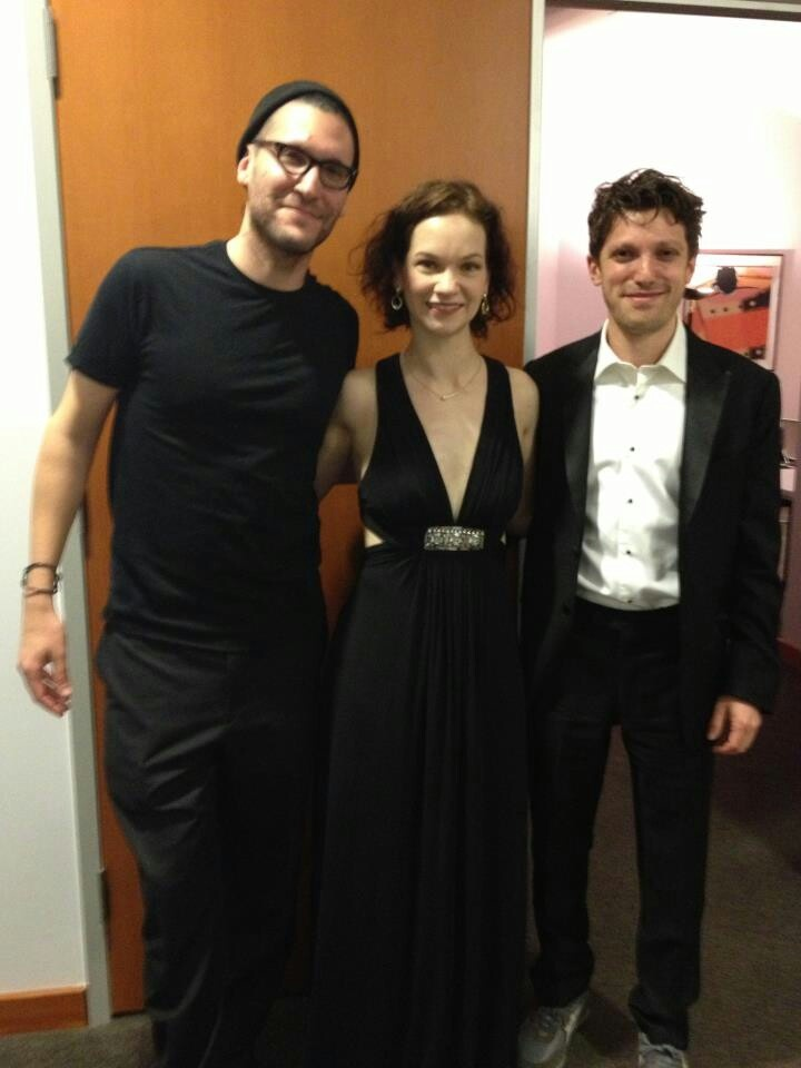 From last night with the LA Phil