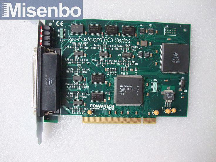 Fastcom PCI RS-422/485 4 PORT Card Tested