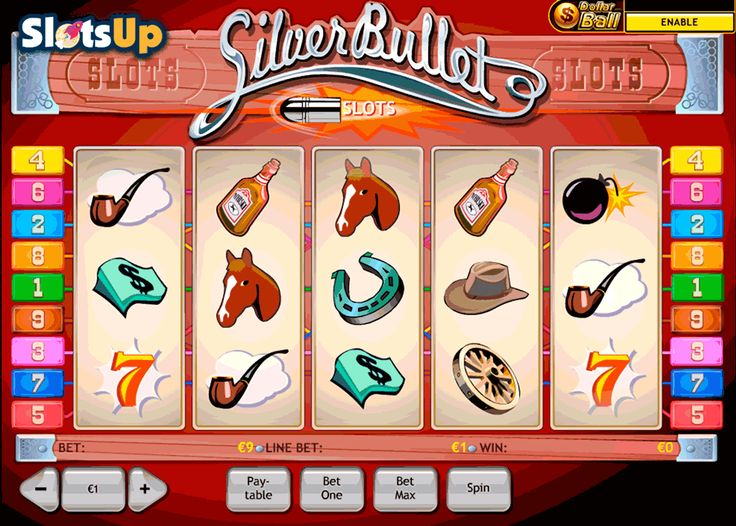 Silver Streak Slot - Play this Game for Free Online