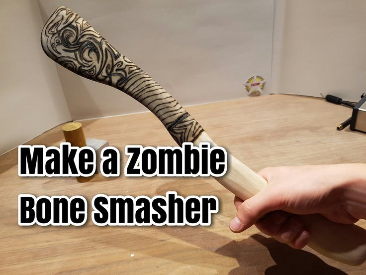 How To Make a Zombie Bone Smasher