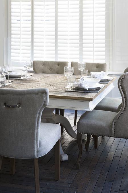 Rivièra Maison Official Online Store ® - furniture | Tables | Dining Tables | Chateau Belvedère diningt. 150x150