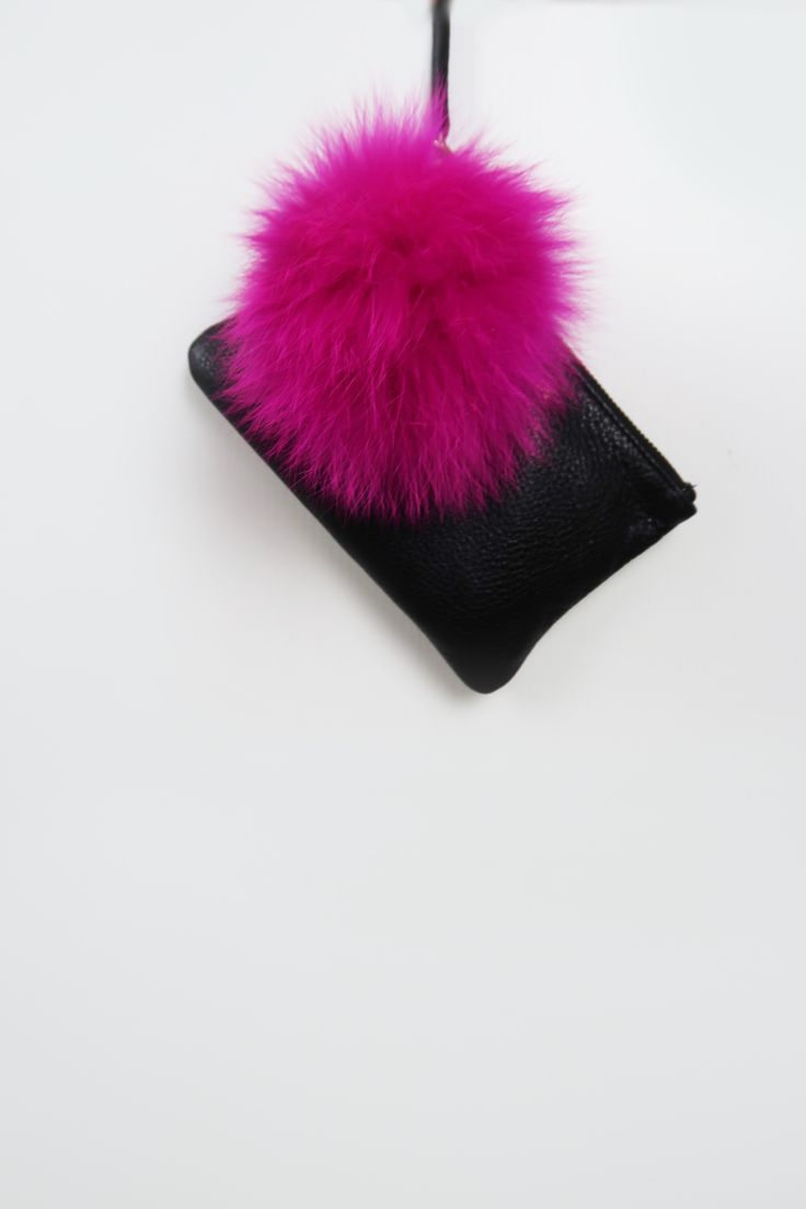 Mode & Affaire Fur Charme in Shocking Pink.