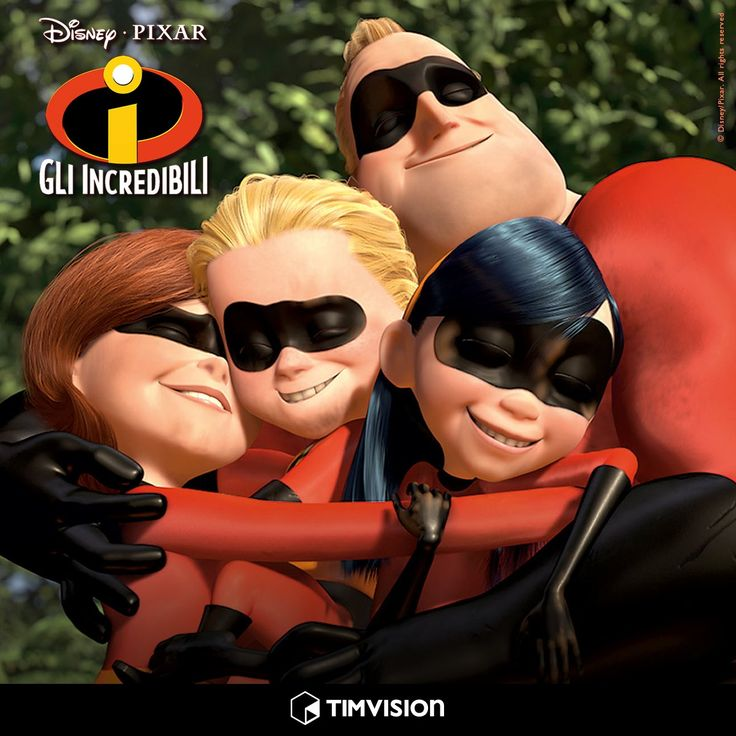 #TIMvision #GliIncredibili #cartoon #Disney #Pixar #cinema