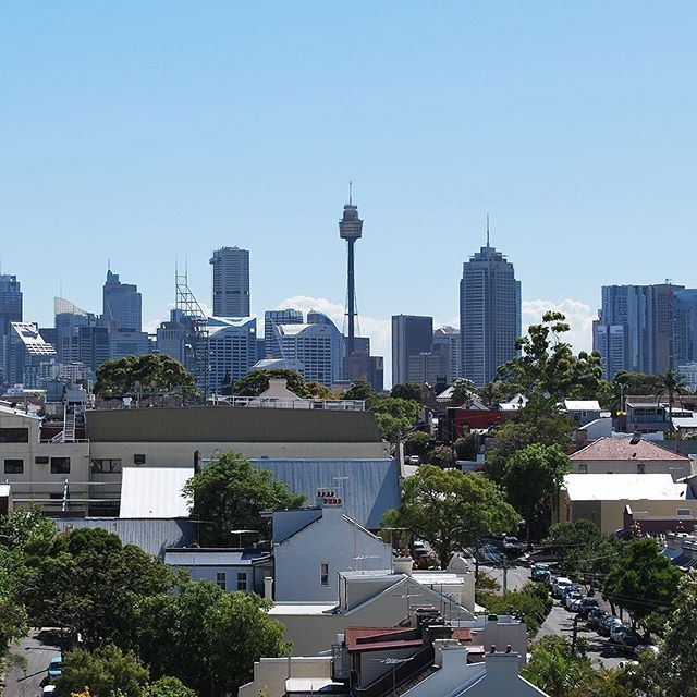 A great view from site of the Sydney skyline.  #great #render #project #architecture #archilovers #architecturelovers #architect #design #designer #wendesday #art #astec #paints #sydney #construction #bluesky #living #picoftheday #thankful #blessed #highend #lovethiscity #best #apartments #followme #morning #follow #winning #sydneycity #centrepoint