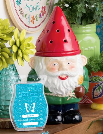 Garden Gnome Scentsy Warmer of the Month March 2017- Spring Summer 2017.