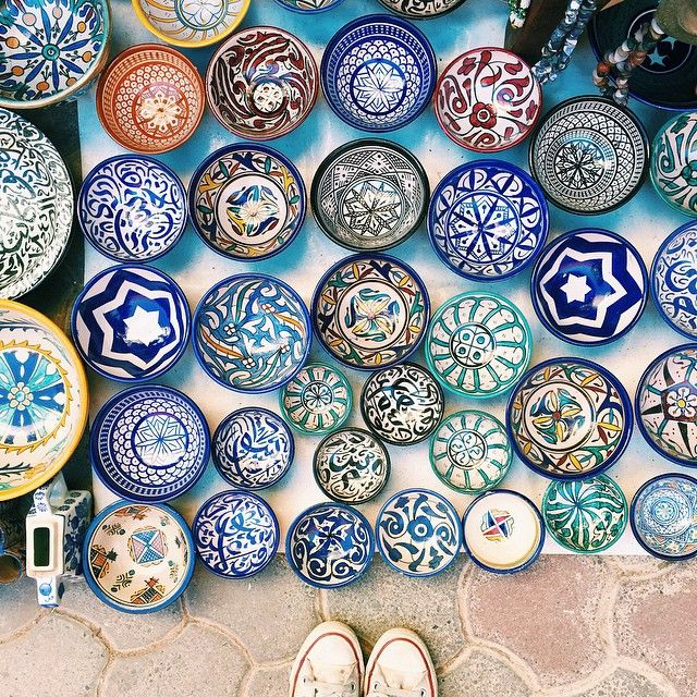 Souk Medina, Marrakesh, Morocco. Photo courtesy of howyouglow on Instagram.