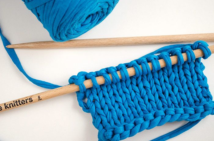 Learn four stitch increases for your knitting projects.