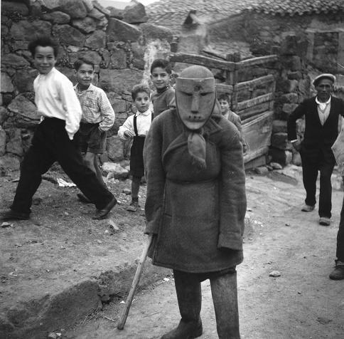 Andreas Fridolin Weis Bentzon - #Ottana #Sardegna, Carnevale 1958 (3)