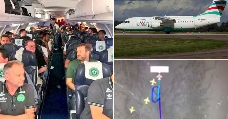 Plane 'carrying Brazilian football team crashes in Colombia' - Mirror.co.uk