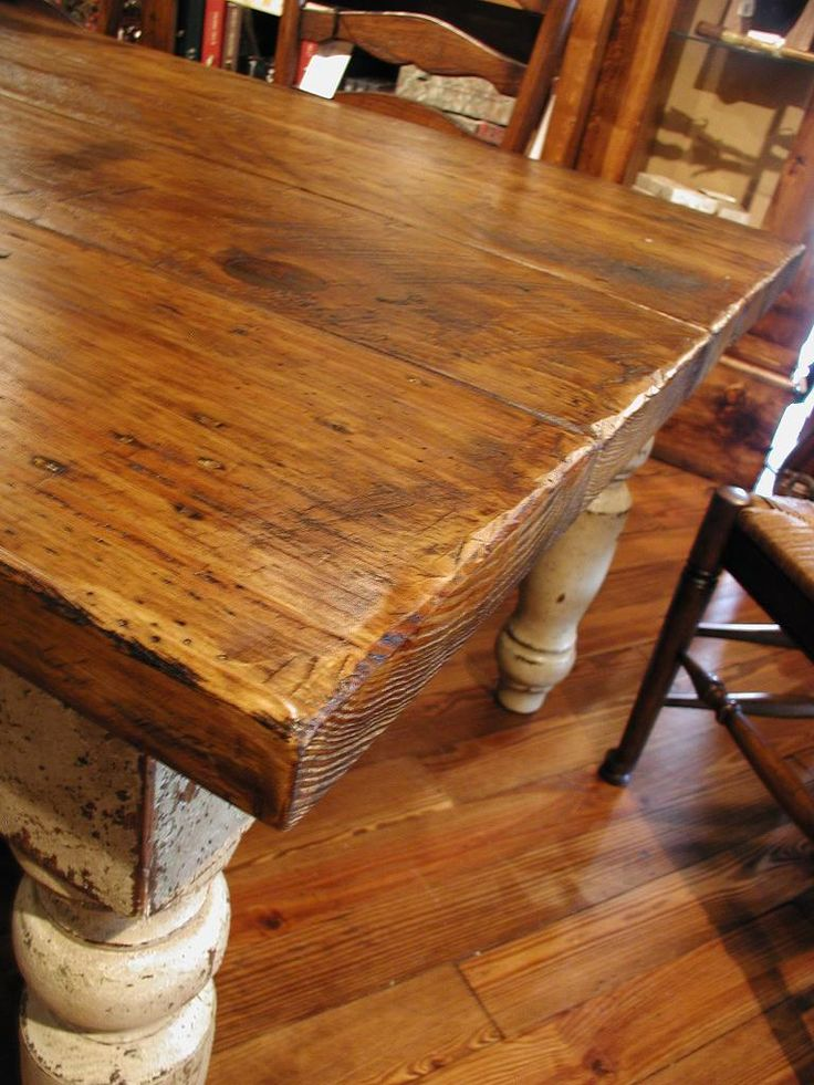 farmhouse table | see the Stockton Farm Table w/ a variety of seating from our ...