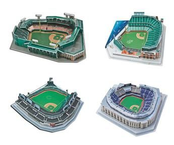 3D Puzzle - Baseball Stadiums