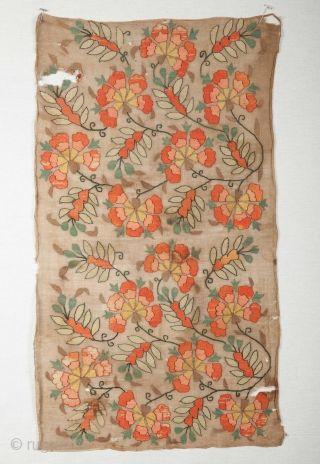 Ottoman Turkish Embroidery  40 x 72 cm / 15.7'' x 28.3''