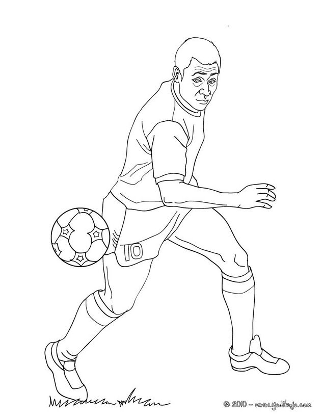 38 best voetbal images on Pinterest Coloring pages Soccer