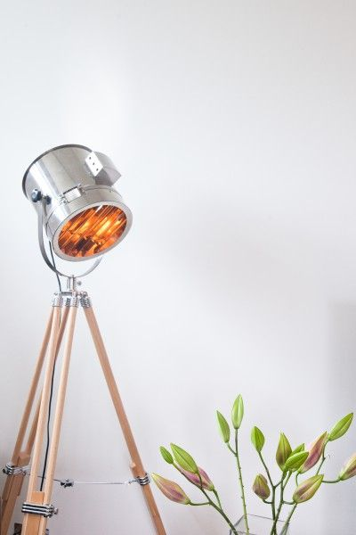 Our Alfred tripod floor lamp really makes a statement. See more on MADE Unboxed.