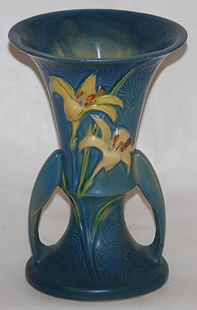 10 Best Roseville Pottery Images On Pinterest Antique Pottery