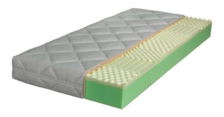 Premium XL Comfort 7-Zonen-Visco-Conturschaum Gesamthöhe ca. 19cm 7-Zonen-Visco-Conturschaum ■ Hoher Liegekomfort durch punktelastische, lochgebohrte Viscoschaumabdeckung und einen perforierten 7... #matratzen