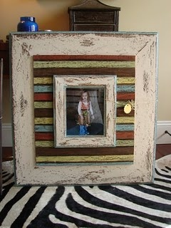 Distressed frames from Simply Squared Designs