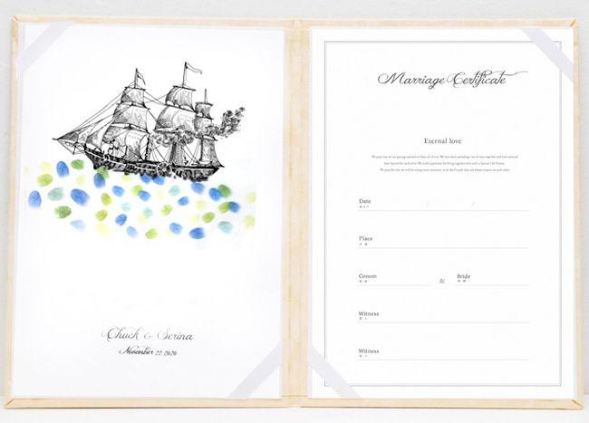 【楽天市場】帆船の結婚証明書【スタンプ 拇印 指紋】【結婚式 ウェディング 結婚祝い 人前式 誓約書】【航海 出港 海 船旅】:Hitomiの幸せデリバリー