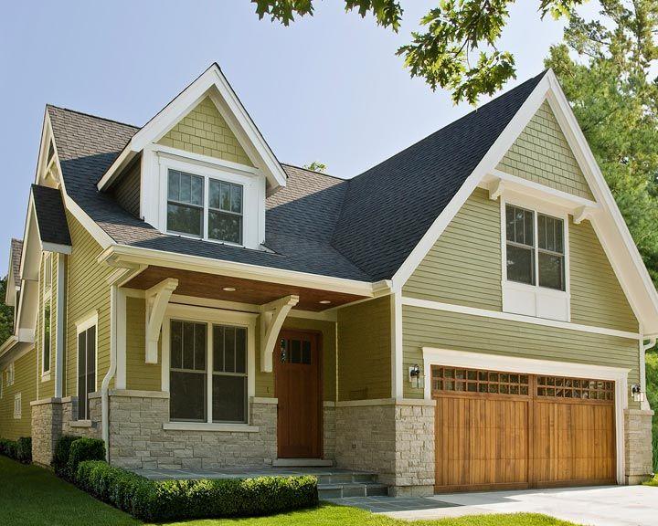 Stone Lap Siding Shingles Exterior House Grey