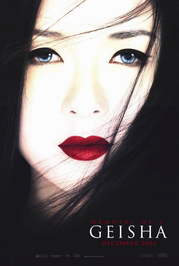 DVD CINE 1628 - Memorias de una geisha (2005) EEUU. Dir.: Rob Marshall. Romance. Drama. Feminismo. Antropoloxía. Sinopse: baseada no best-seller de Arthur Golden, no Xapón de 1929, Chiyo, unha nena de nove anos, é vendida polos seus pais para traballar na casa de Geishas de Nitta Okiya. A súa irmá maior Satsu non é aceptada e é enviada a un prostíbulo. Os comezos de Chiyo son duros pero, con constancia, tratará de conseguilo para estar ao lado do seu amor, o Presidente.