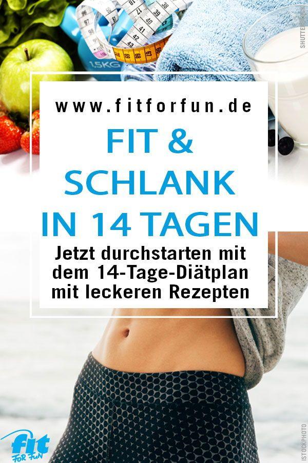 Diatplan Fit For Fun Diat Der 14 Tage Plan Fatburning