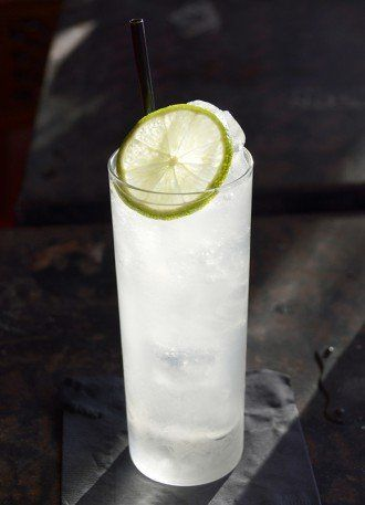 Coconut lime cocktail!