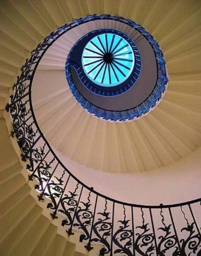 The Worlds 10 Most Stunning Stairways Design - Staircase at the Queen's House (England)