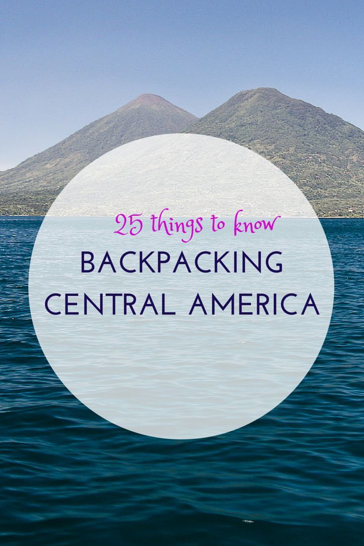 8 Tips For Backpacking Central America | Rough Guides