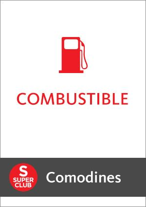 Comodines Combustible con SuperClub y Tarjeta Santander Río