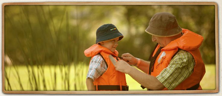 Fishing safety. Be prepared for the weather and handle fishing equipment responsibly...learn more at takemefishing.org.