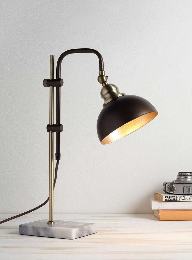 Bronze Flint Table Lamp - BHS