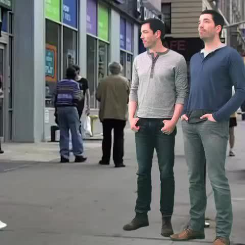 Pin for Later: The Property Brothers Video Clips You Won't See on HGTV The One With a Surprise Pencil