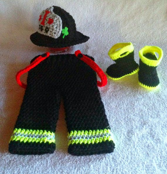 Hey, I found this really awesome Etsy listing at https://www.etsy.com/listing/220329651/baby-firefighter-outfit-firefighter-baby