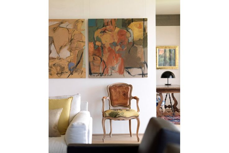 Living Room Artwork Detail - Gordon's Bay House by Decus Interiors