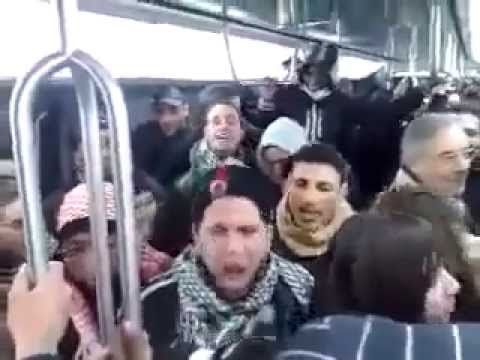 """ISIS Recruits Shout 'Allah Akbar' In Refugee Trains Going To Germany - Islamic terrorists are heard shouting the phrase""""Allah Akbar"""" before launching their attacks. The 9/11 hijackers themselves screamed """"Allah Akbar!"""" before crashing their planes. More recently, Army Maj. Nidal Malik Hasan was heard crying """"Allah Akbar!"""" before massacring 13 fellow soldiers at Fort Hood."""