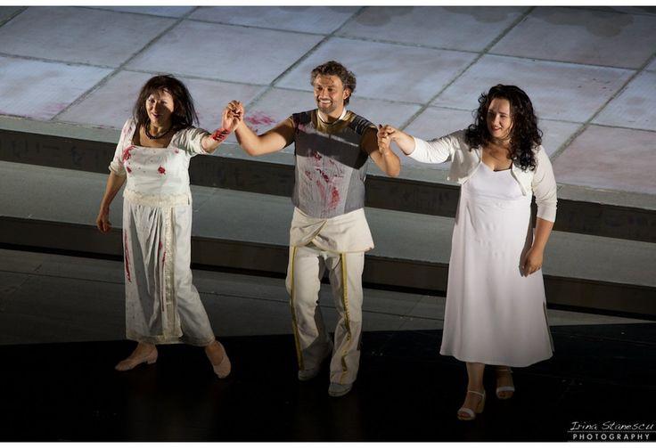 Aida, Bayerische Staatsoper, 25.09.2015 Krassimira Stoyanova Jonas Kaufmann Anna Smirnova