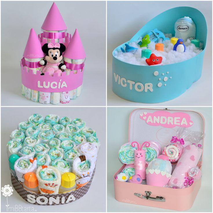 Regalos para niños de un año; ¿buscas un regalo para el primer cumpleaños del bebé? Tartas de pañales originales y canastillas divertidas con lo que más necesitan. Haz clic en la foto si quieres ver más ideas https://mibbtarta.es/etiqueta-producto/regalo-primer-cumpleanos/ #primercumpleaños #cosasparabebes #regaloreciennacido #diapercake #diapercakes #tartadepañales #tartasdepañales #canastilla #regalobebe #regalonacimiento