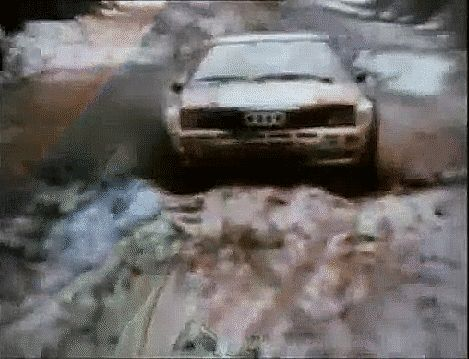Michele Mouton is the best female driver ever and one of the best rally drivers in history. She drove such monsters like killer B Audi Quattro S1