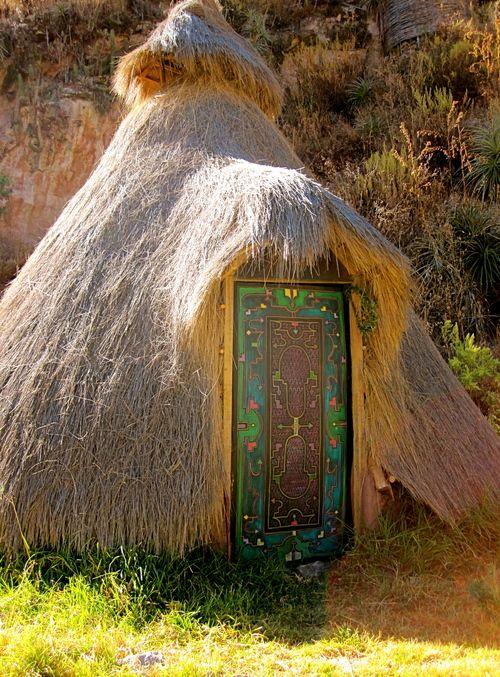 Ayahuasca hut