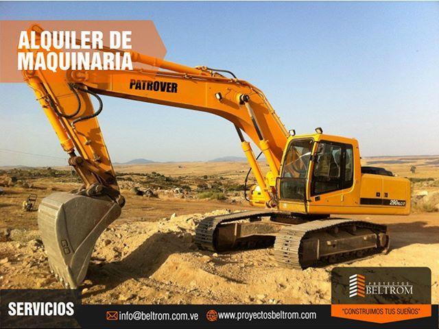"""Necesitas realizar #Excavaciones #Movimientos de tierra #Construcción de carreteras o hacer alguna Edificación? En @pbeltrom contamos con alquiler de maquinaria para llevar a cabo tu proyecto de forma rápida y segura.  Ingresa en: http://ift.tt/2pcw9de  y conoce nuestros servicios... """"Contruimos Tus Sueños""""  #construccion #valencia #proyectos #sitioweb #maquinas @nahaweb"""